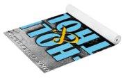 A--holes And Potholes Book Cover Yoga Mat