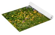A Mouthful Of Flowers Yoga Mat