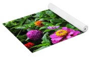 A Sea Of Zinnias 09 Yoga Mat