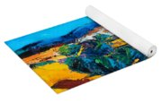 A Sunny Day In Provence Yoga Mat