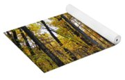 A Walk In The Dune Land Forest Yoga Mat
