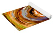 Abstract #140814 - Inside The Pipeline Yoga Mat