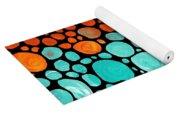 Mosaic Art - Abstract 3 - By Sharon Cummings Yoga Mat