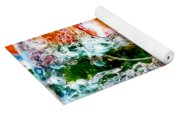 Abstract Drink Yoga Mat