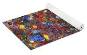 Abstract - Fabric Paint - Sanity Yoga Mat