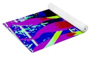 Abstract Lavender  Yoga Mat