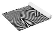 Abstract - Lines - That's A Moire Yoga Mat