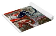 Abstract Number 32 Yoga Mat