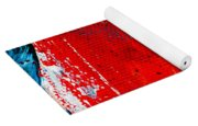 Abstract Original Artwork One Hundred Phoenixes Untitled Number Five Yoga Mat
