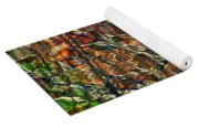 Abstract Reflection Photo Yoga Mat