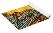 Abstract Roller Coaster Yoga Mat