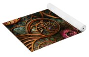 Abstract - The Wonders Of Sea Yoga Mat