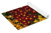 Abundance Of Yellows Reds And Oranges Yoga Mat