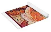 Acanthus Vine Design Yoga Mat