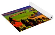 Across The Valley Yoga Mat