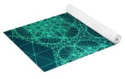 Adrift In Space Time Yoga Mat