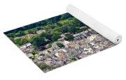 Aerial View Of Keswick In The Lake District Cumbria Yoga Mat