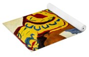 African Mother And Child Yoga Mat