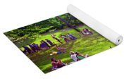 Afternoon In The Park With Friends Yoga Mat