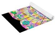 Alchemical Lotus Zodiac Yoga Mat