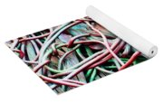 All Tied Up Abstract Art Yoga Mat