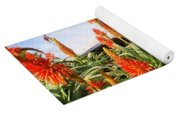 Aloe Vera And Tin Roof Plantation House Yoga Mat