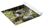 American Alligator Print Yoga Mat