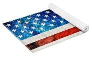 American Flag Art - Old Glory - By Sharon Cummings Yoga Mat