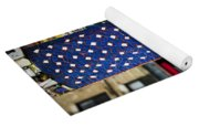 American Flag Tiles Yoga Mat