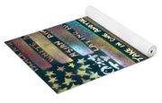 American Rainbow Yoga Mat