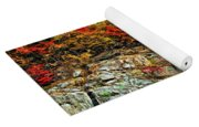 An Autumn Day Painted Yoga Mat