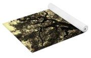 Angel Oak Tree Sepia Yoga Mat