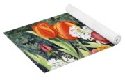 Ann's Tulips Yoga Mat
