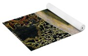 Aphrodite And Ancient Cyprus Map Yoga Mat