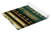Arabic Calligraphy And Prayer On Gaffoor Mosque Singapore Yoga Mat