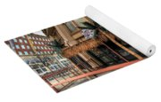 Architecture And Places In The Q.c. Series Purple Monkey Yoga Mat
