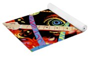 Jimi Hendrix Are You Experienced Yoga Mat
