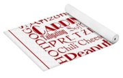 Arizona Cardinals Game Day Food 3 Yoga Mat