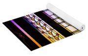 Art-nouveau Stained Glass Window Yoga Mat