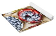 Assorted Tarts And Pastries Yoga Mat