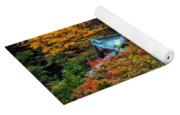 Autum In Japan Yoga Mat