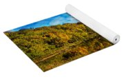 Autumn At Sailboat Cove Yoga Mat