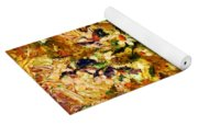 Autumn Bounty - Abstract Expressionism Yoga Mat