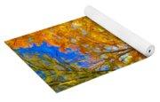 Autumn Cul-de-sac - Paint Yoga Mat