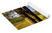 Autumn Farm In Vermont Yoga Mat