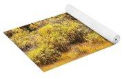 Autumn Fire In The Grass Yoga Mat