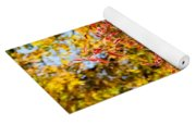 Autumn Flames Yoga Mat