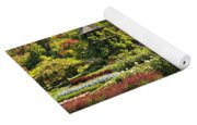 Autumn Garden Yoga Mat