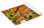 Autumn - House - The Beauty Of Autumn Yoga Mat