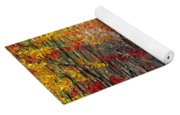 Autumn In The Woods Yoga Mat